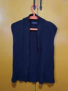 Giordano Ladies Knitted Black Vest
