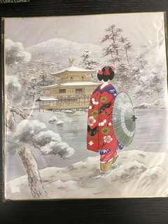 京都仕女畫五幅