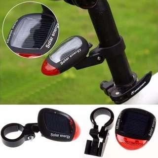Bicycle Solar Energy Rear Light