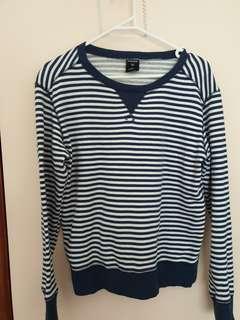 striped bonds sweater