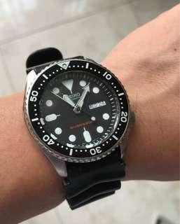 Skx 007 Diver Original