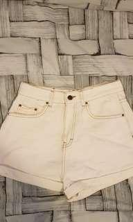 Glassons white shorts!