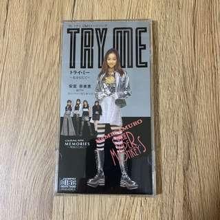 🚚 安室奈美惠with super monkey's 8cm日版單曲Try me