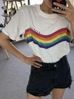 Topshop White Daydream Shirt/Top