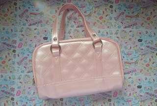 🚚 外出方便 粉色小提包 購物包