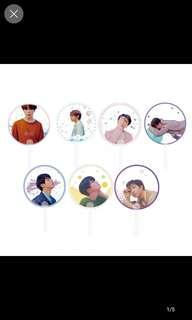 (PO) BTS transparent fan