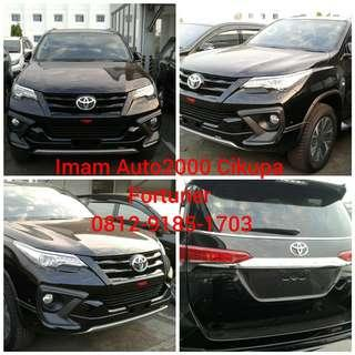 New Fortuner 4x2 2,7 SRZ A/T BSN LUX TRD