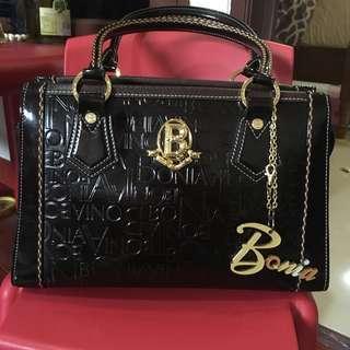 Bonia brown leather bag