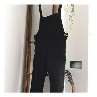 Vintage Black Overalls (s)