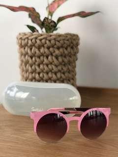 Sportsgirl Pink Frame Sunglasses