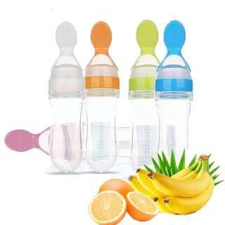 Silicone Baby Food Squeezer