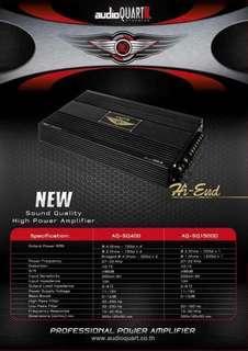 AQ SQ400 power amplifier 98%NEW