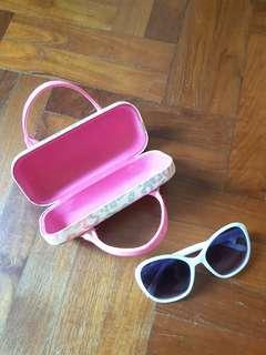 Adorable children's sunglasses with case