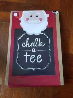 Great Christmas present Chalk-A-Tee