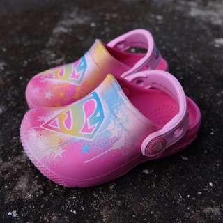 💯 original Crocs Super girl Toddler