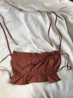 Backless bandeau