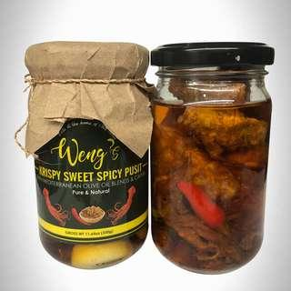 Krispy Sweet & Spicy Pusit
