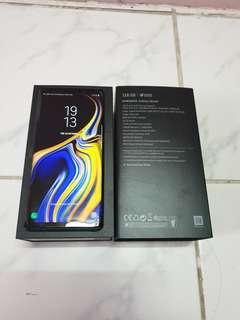 Samsung Galaxy Note 9 6GB RAM 128GB Ocean Blue SME Set