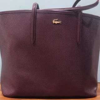 Lacoste Tote bag with dust bag