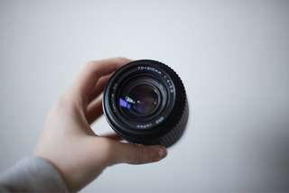 Tokina SD 70-210mm f/4-5.6 Lens, Pentax mount