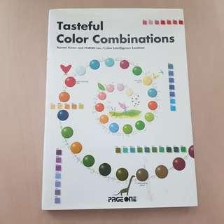 Tasteful Color Combinations (Design Book - Colours - Page One)