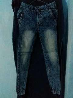 Celana jeans jogger cwe #flashsale