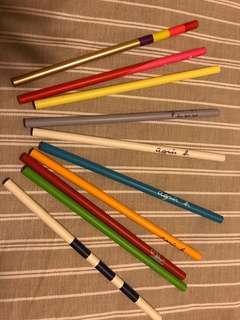 絕版名牌鉛筆