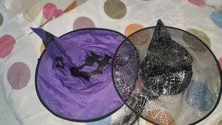 Halloween witch hat 50 each