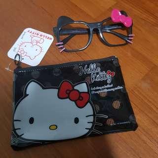 Hello Kitty Frame + Pouch (Sanrio)