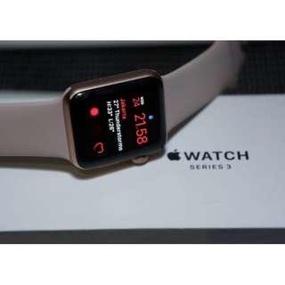Apple Watch Series 3 38 mm Rose Gold