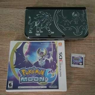 Nintendo New 3DS XL SOLGALEO LUNALA Edition
