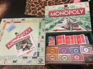Original Monopoly Hasbro gaming
