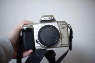 Pentax ZX-60 SLR 35mm film camera