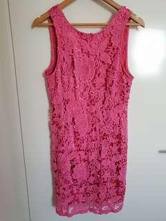 Tokito collection pink lace dress