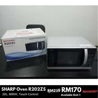 Sharp 20L 800W Microwave Oven R202ZS