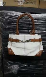 Coach Leather Shoulder Handbag 90%New