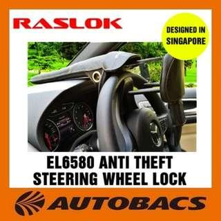 [Autobacs] Raslok EL6580 Anti Theft Steering Wheel Lock