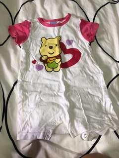 Disney baby 6 months Pooh bear romper