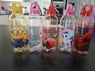 Brand new water bottles