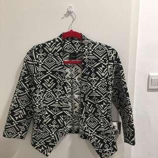 Aztec / Tribal Semi / Formal Jacket Blazer