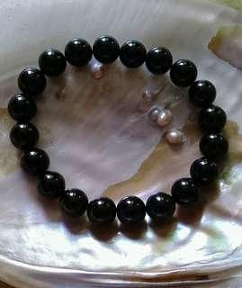 JET  Protection Bracelet 10 mm Unisex
