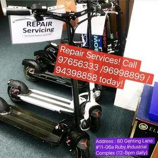 Repair Service for Electric Scooter