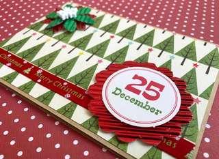 🚚 Christmas Handmade Card - 25 December