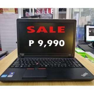 Lenovo thinkpad core i5 laptop