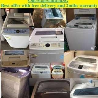 Used , Good condition washer / washing machine ($150 with free delivery with two months warranty)