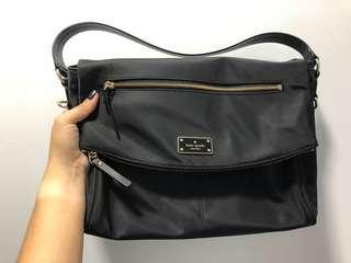 Authentic Kate Spade Blake Avenue crossbody or Shoulder bag black nylon
