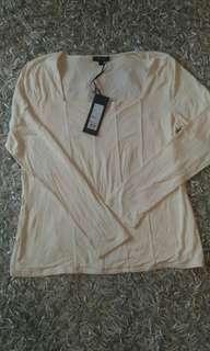 🚚 Linea 米色長袖上衣