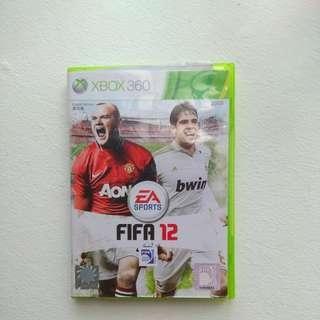 Xbox360 FIFA12 game
