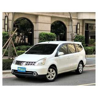 最實惠的七人座房車 日產LIVINA 1.8 省油省稅 三代同堂一台搞定
