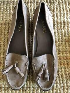 Ralph Lauren suede shoes in size US 8B, Aus 8.5